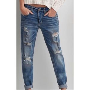 🆕Like New American Eagle Destroyed Boy Crop